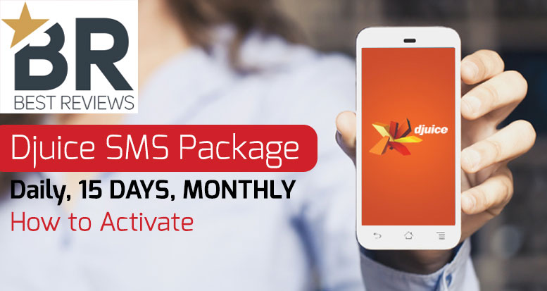 Djuice SMS Packages [Daily, Weekly, 15 Days, Monthly]
