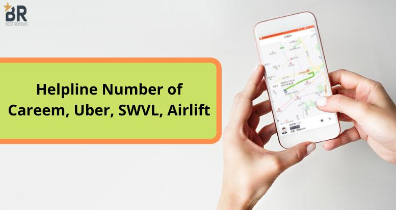Helpline number of commuting services