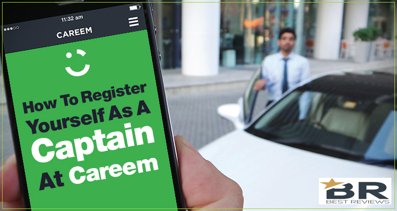 How to register yourself as a captain at careem