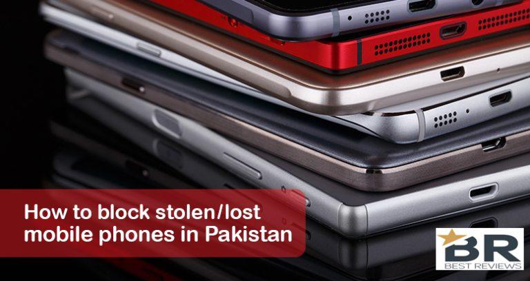 How To Block Stolen Lost Mobile Phone In Pakistan