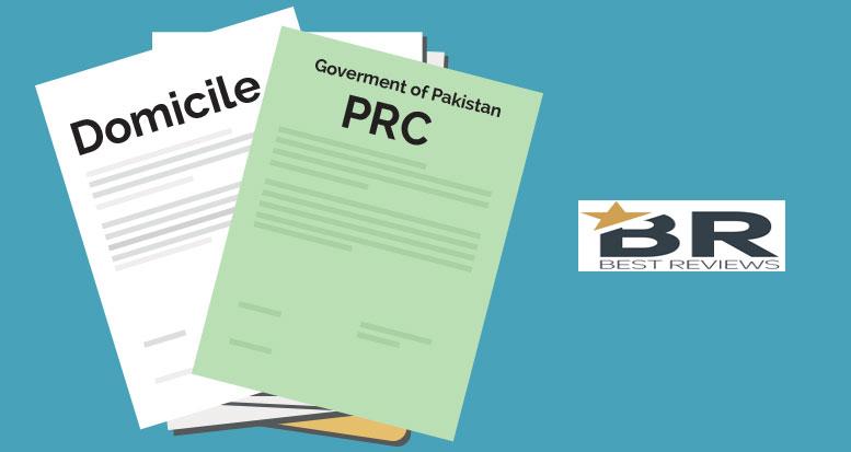 Procedure to obtain Domicile and PRC in Pakistan