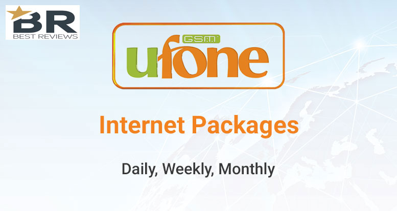 Ufone 3G & 4G Internet Packages
