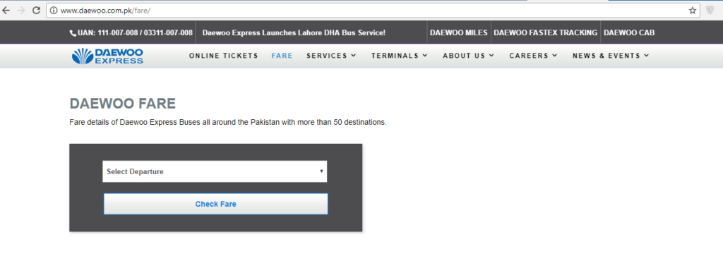 How To Book Daewoo Ticket Online / Reservation