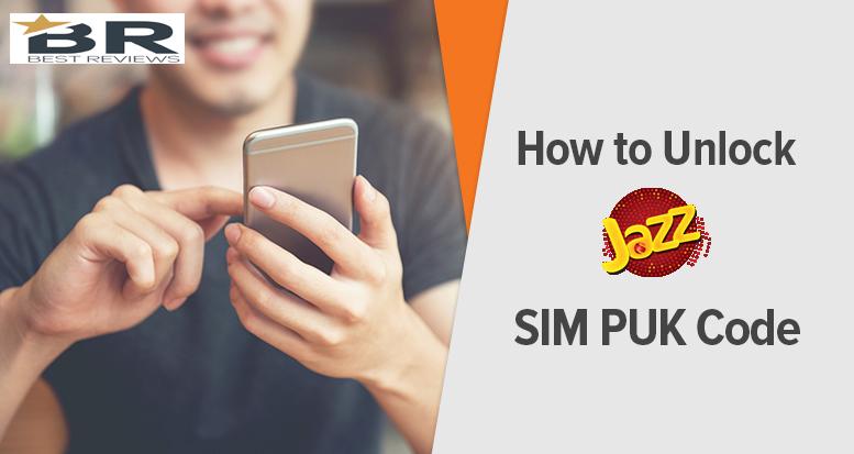 How to Unlock Mobilink Jazz SIM PUK Code