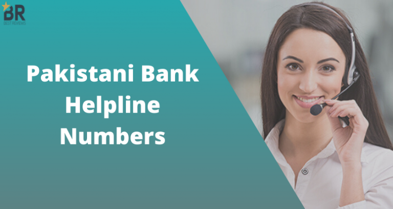 Pakistani Bank Helpline Numbers
